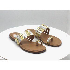 Inc Jaylee Embellished Toe-Ring Flat Sandals